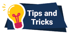 eTips and Tricks